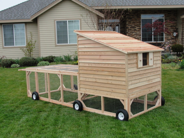 Co chicken coops for How to build a movable chicken coop