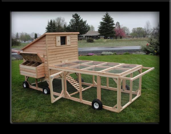 Tractor Wheels Chicken Co Op : Co chicken coops